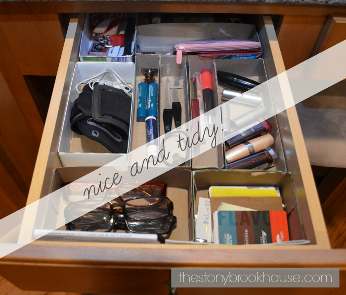 Drawer Organization for Cheap