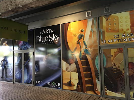 """Visitamos """"The Art of Blue Sky Studios"""" en el Museo de Arte Lúdico de París"""