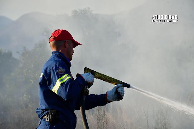 Ευχαριστίες από τον Δήμο Επιδαύρου στην Πυροσβεστική Ναυπλίου