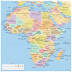 Etymological Map of Africa