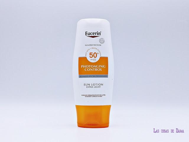 Eucerin Loción Corporal Photoaging Control FPS 50+ protección solar farmacia