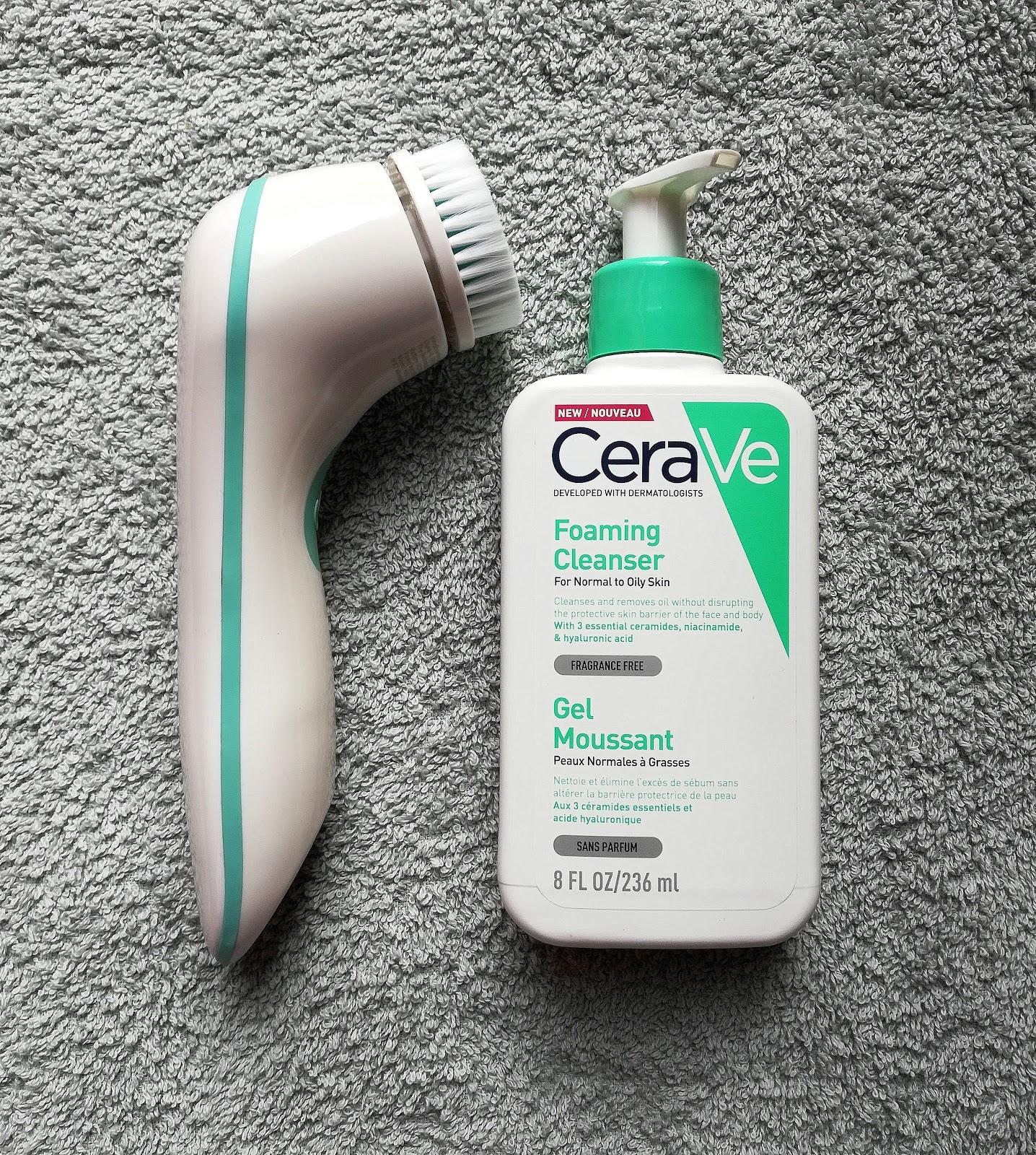CeraVe gel moussant visage et corps