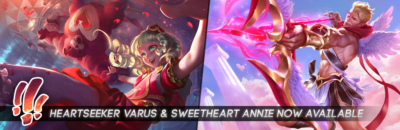 Surrender At 20 Heartseeker Varus And Sweetheart Annie