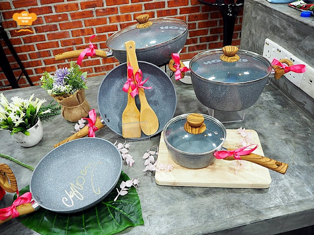 Little Home Jo's Marble Cookware Collection