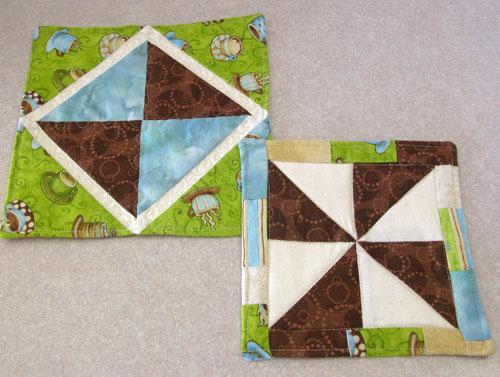 Mugs rugs with no binding