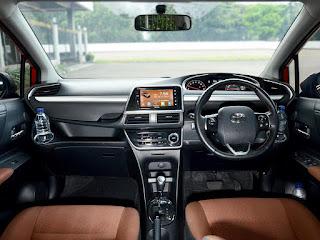 Tampilan Interior Pada Review Kelebihan dan Kekurangan Toyota SIenta 2018