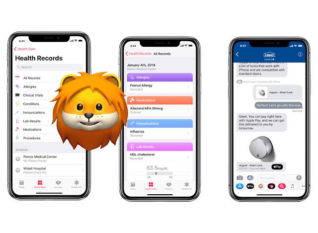 Pembaruan iOS 11.3, dari Baterai Hingga Rekam Medis