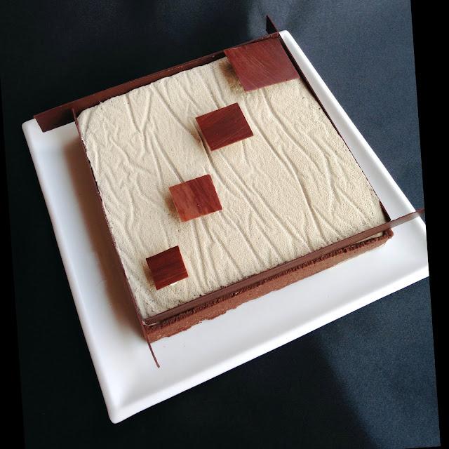 IMG 3081 - Dolce quadro: cioccolato e caramello