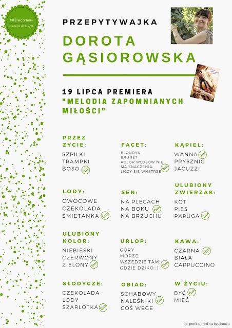 """'PRZEPYTYWAJKA"""" Dorota Gąsiorowska"""