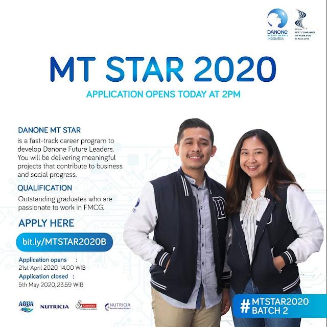 Rekrutmen Danone Indonesia Medan Mei 2020