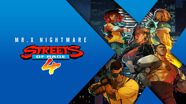 streets of rage 4 mr. x nightmare dlc release date survival mode gameplay estel aguirre max thunder shiva classic side-scrolling beat 'em up pc steam ps4 switch xb1 xbox game pass dotemu guard crush games lizardcube sega