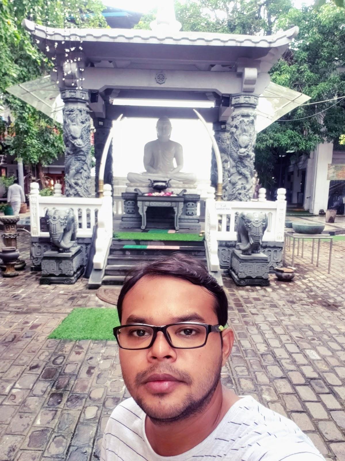 Jade Statue in Gangaramaya temple