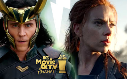 Black Widow and Loki special look revealed at MTV Awards