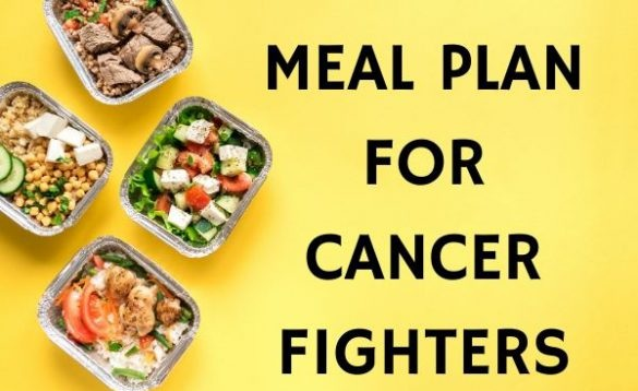 cancer fighter quotes: Meal Plan for Cancer Fighters