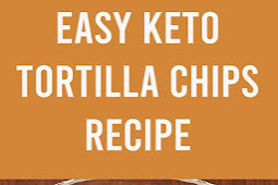 Keto Tortilla Chips Recipe #lowcarb #keto #tortillachips