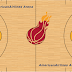 NBA 2K21 2000-01 Heat Court by Groot