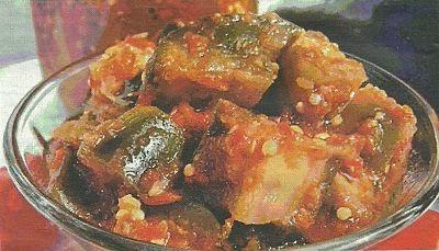 Необходимые продукты и способ приготовления баклажанов в остром соусе