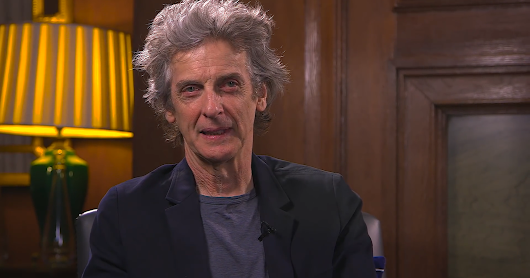 Screencaps - Peter Capaldi - The Doctor Who Fan Show
