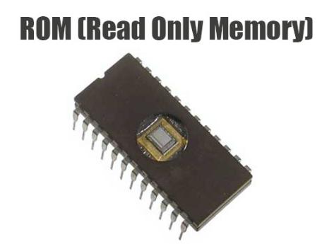 Pengertian ROM, Cara Kerja, Fungsi, Jenis dan Bentuk ROM Lengkap