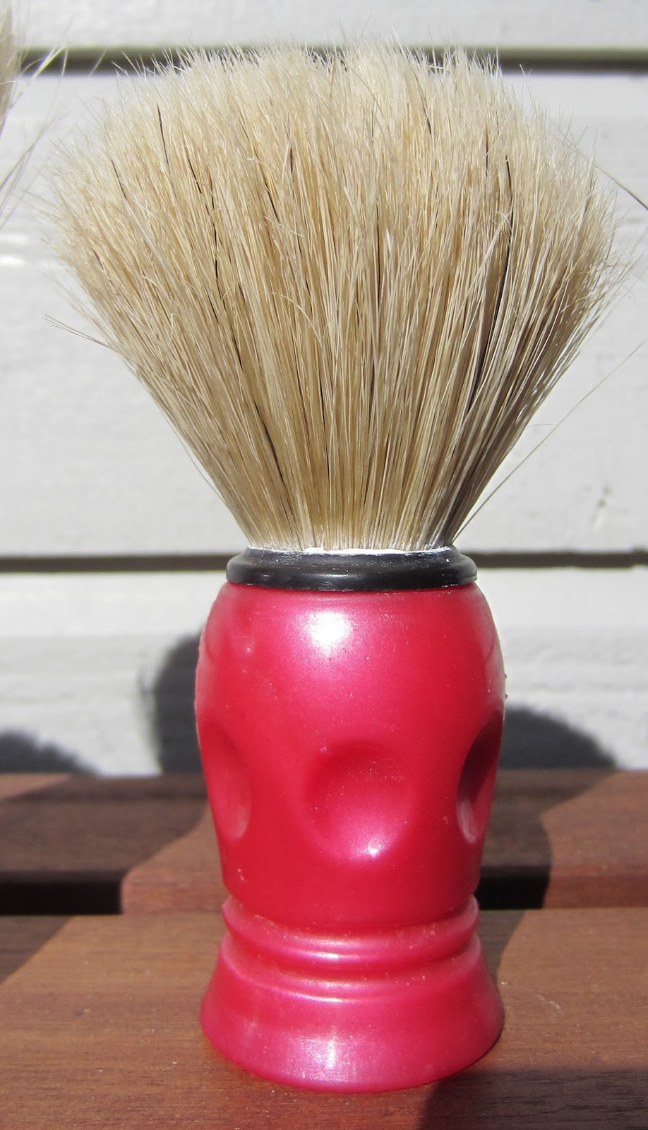 Pure Badger Travel Brush With Ivory Case  Mm Knot