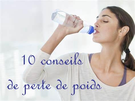 10 conseils de perte de poids