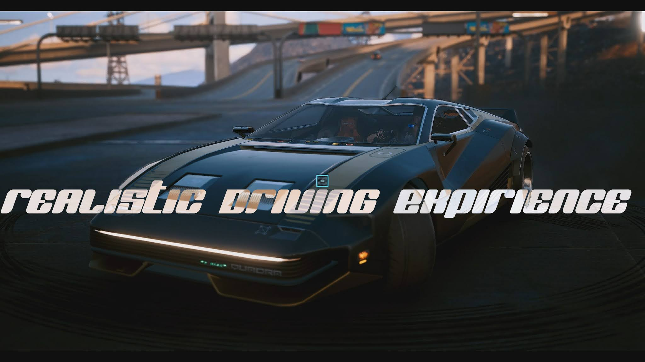 Cyberpunk 2077: Realistic driving