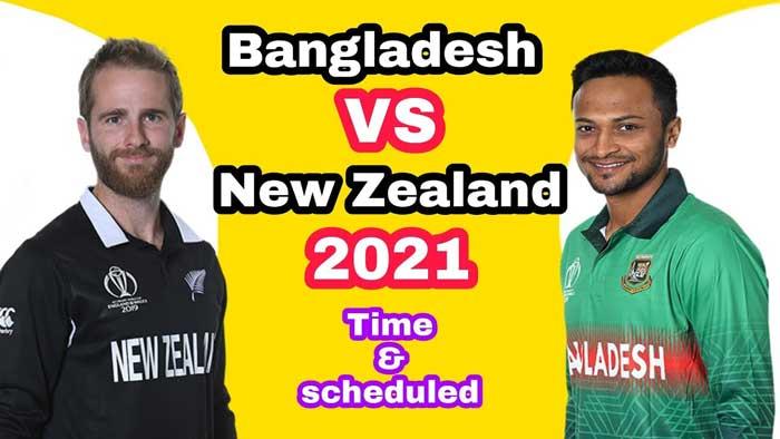 Bangladesh Vs New Zealand 1st ODI Live Streaming 2021