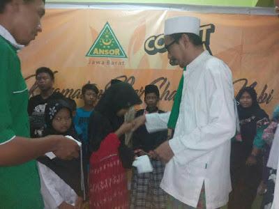GP Ansor Sambut Nuzulul Qur'an Santuni Puluhan Yatim