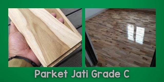 Parket Jati Grade C