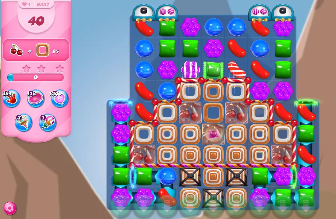 Candy Crush Saga level 9557