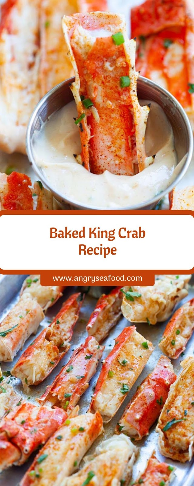 Baked King Crab Recipe