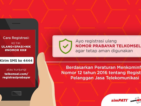 Tetap Nyaman untuk Transfer Pulsa Simpati dengan Registrasi Ulang Kartu SIM