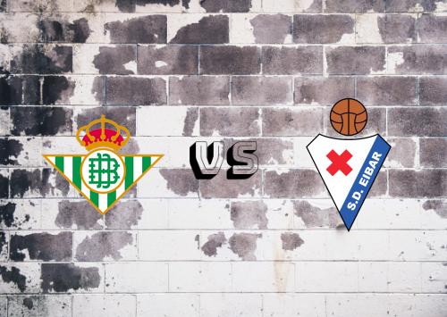 Real Betis vs Eibar  Resumen