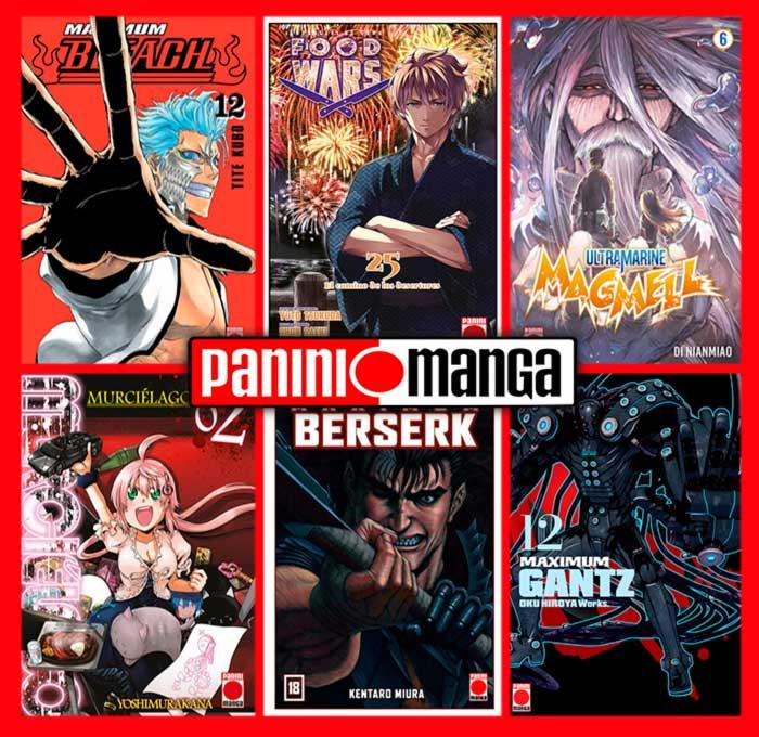Novedades Panini Manga julio 2020