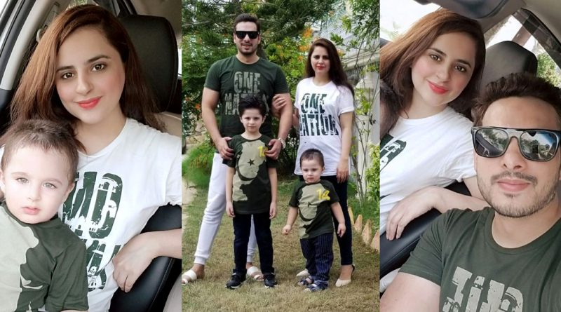 Fatima Effendi and Kanwar Arsalan Awesome Pictures on 14th August 2020