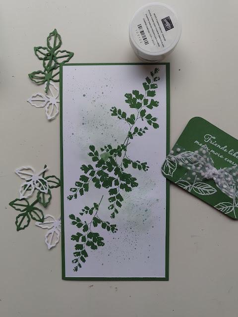 Stampin' Up Garden Green card materials