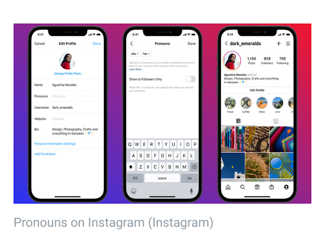 How to add pronouns to Instagram profiles