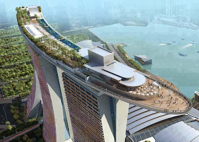 Sands SkyPark - Marina Bay Sands (Singapore)