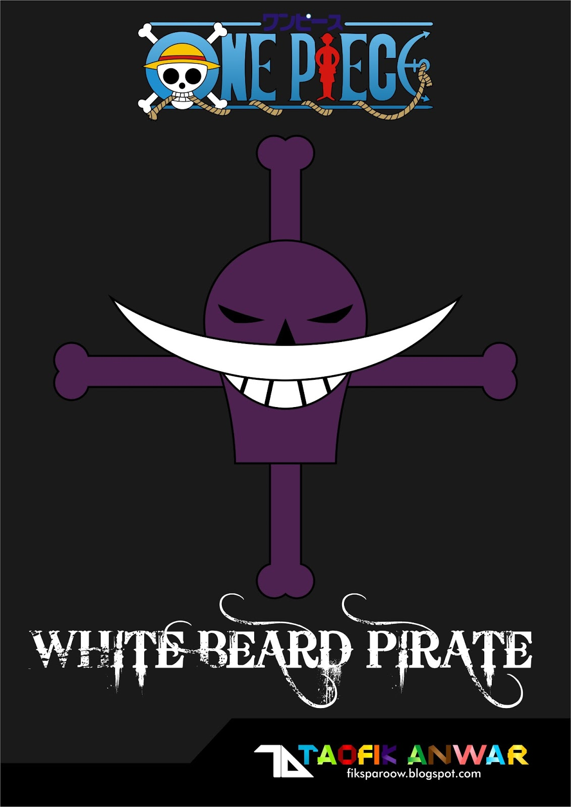 Whitebeard pirates logo - photo#45