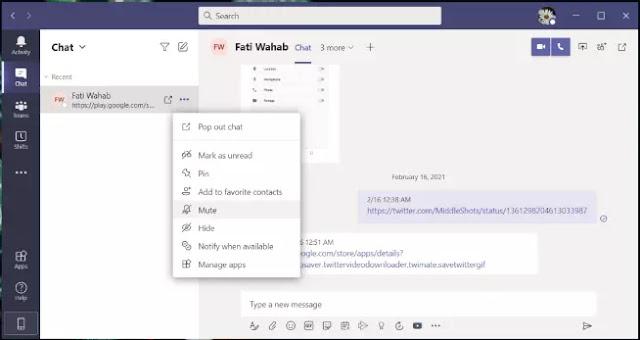 Cara Blokir Seseorang di Microsoft Teams-3