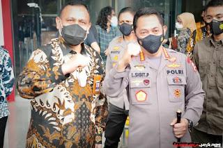 Kungker Kapolri Ke KPK, Bicarakan Penguatan SDM Pencegahan Sampai Joint Investigasi