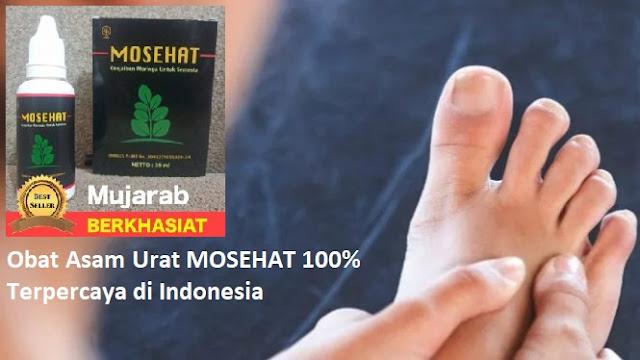 Obat Asam Urat MOSEHAT 100% Terpercaya di Indonesia
