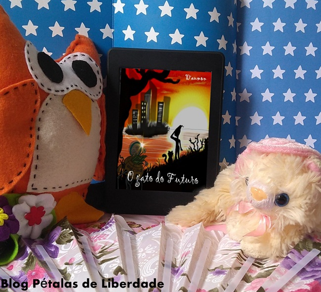 Resenha, livro-infantil-ilustrado, O-Gato-do-Futuro, Hugo-Daumon, Blog-Literario-Petalas-de-Liberdade