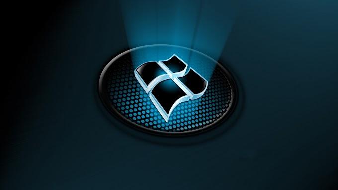 Papel De Parede Windows 10 Logo 3D