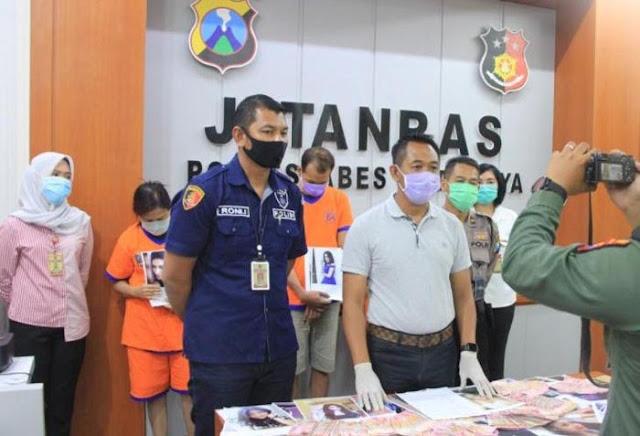 Jumpa Pers Polrestabes Surabaya