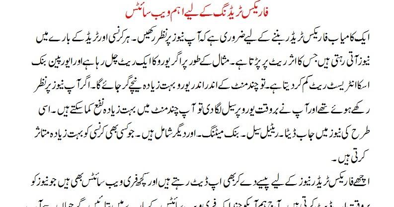 Fatwa on forex trading in urdu