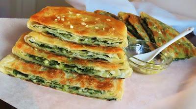 Lepezasta Pita ala Soparnik / Chard Pie