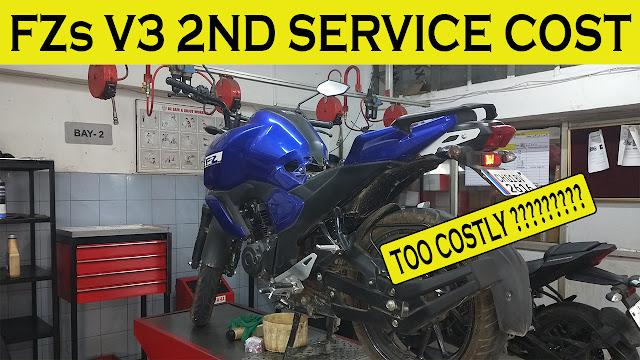 fz v3 maintenance cost