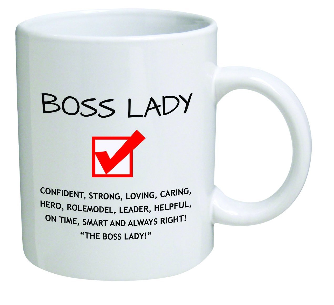 Get It Funny Boss Lady Office Coffee Mug