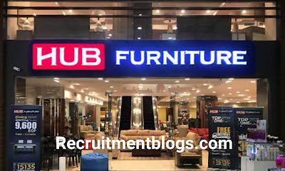 Digital Marketing Executive At HUB Furniture | 0-1 years of experience